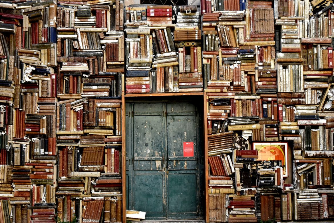 Books wall